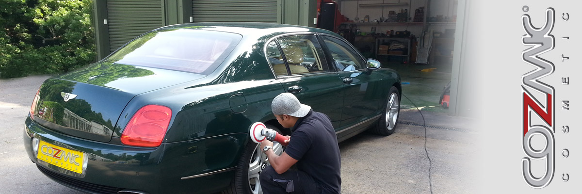 Cozmic Cosmetic offers a mobile car and motorcycle body repair service carried out from your home or our premises in Farnborough at your convenience.