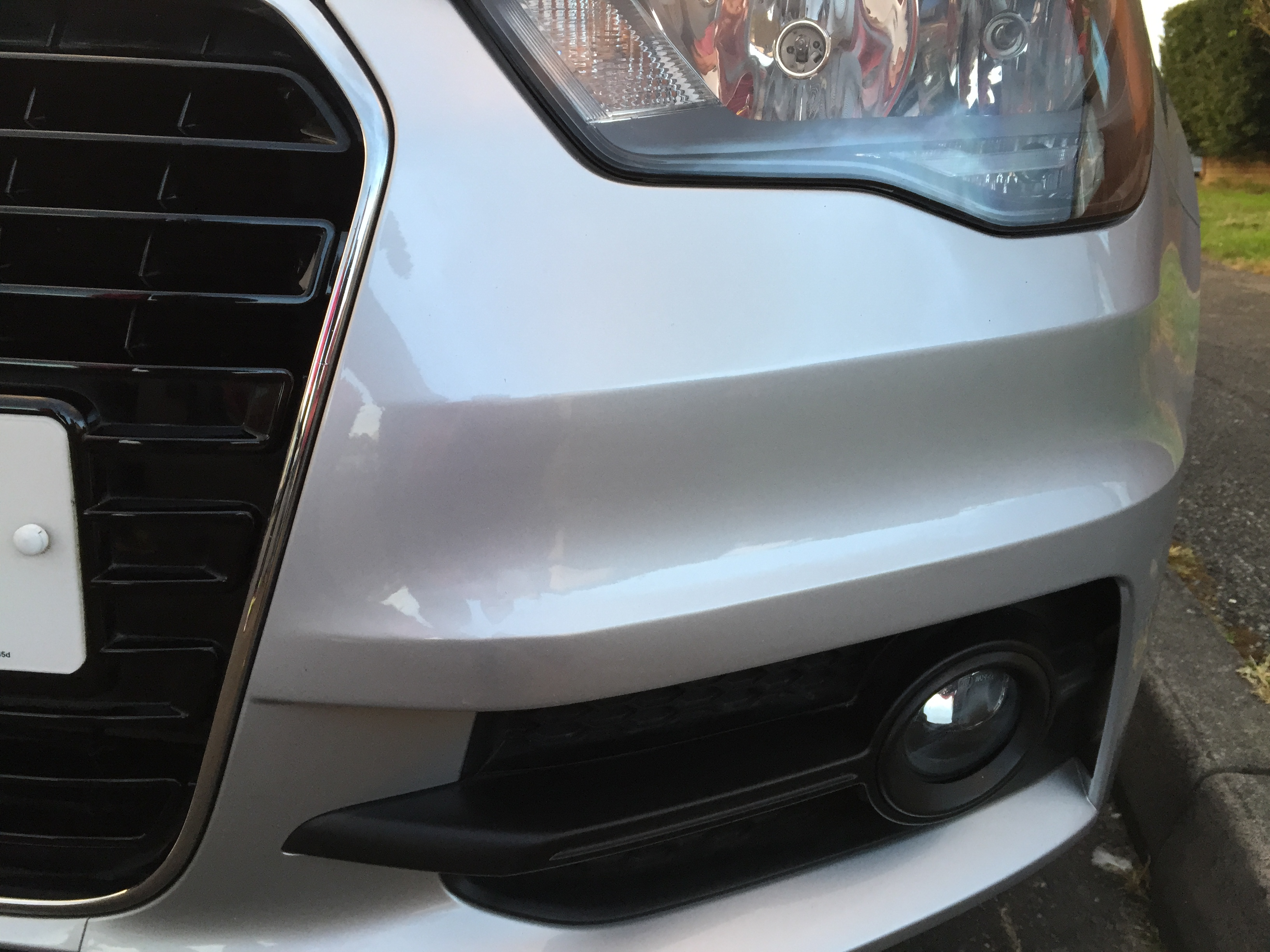 Car Repair Bumper scuffs, Paintwork Scratches & Minor dents – Audi A1